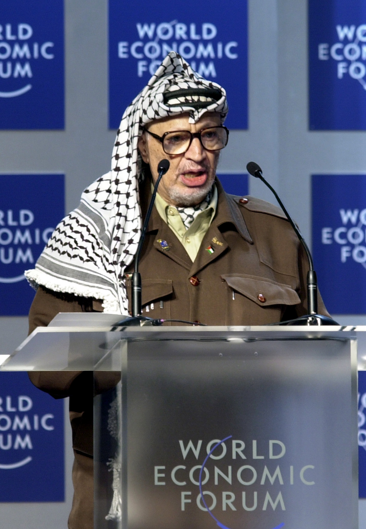 Yasser Arafat Height