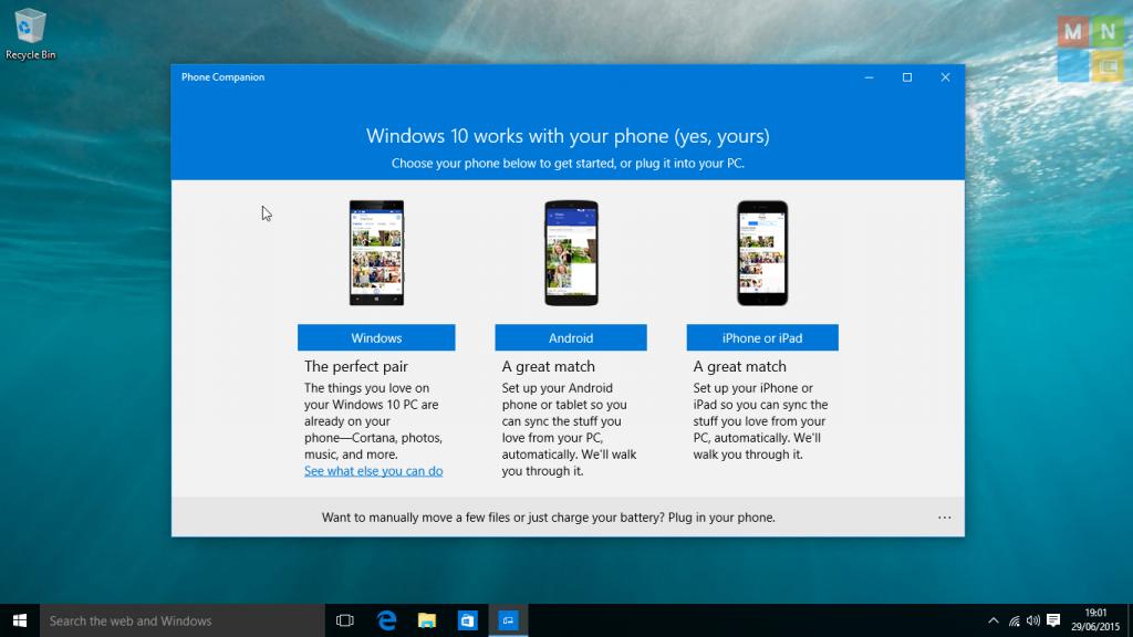 windows 10 phone companion app download